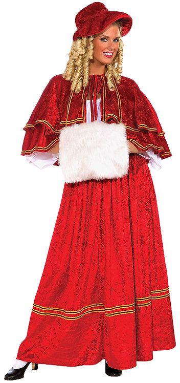 CHRISTMAS CAROLER ADULT COSTUME