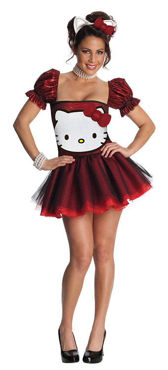 HELLO KITTY RED  COSTUME