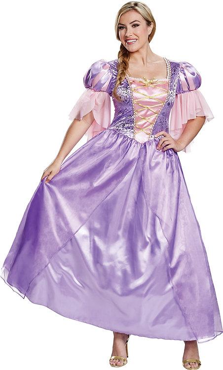 Women's Rapunzel Deluxe Costume