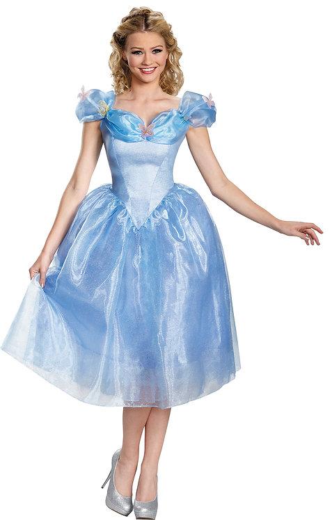 Women's Cinderella Deluxe Costume