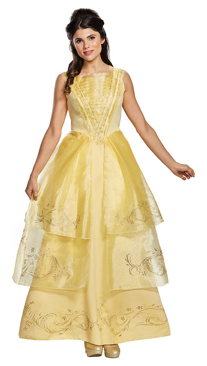 Women's Belle Ball Gown Deluxe Costume
