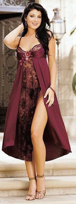 Long Gown Set