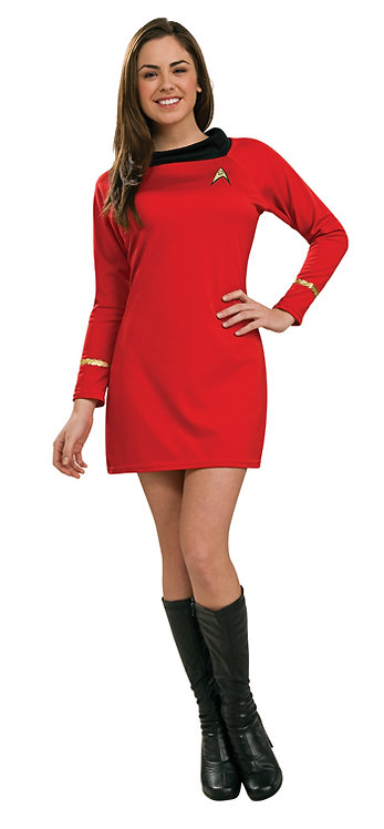 STAR TREK CLASSIC RED,BLUE, AND GOLD COSTUME