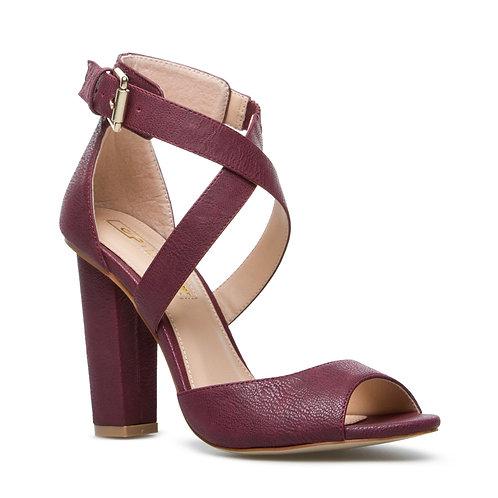 Block-heel sandal
