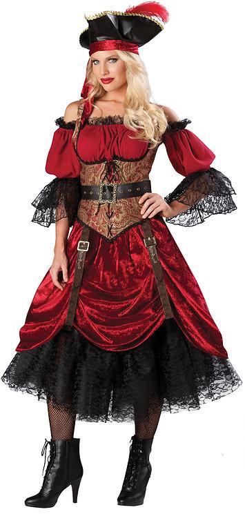 Women's Swash bucklin  Scarlet Costume