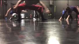 Class with Gustavo Vargas. Danza Universitaria.