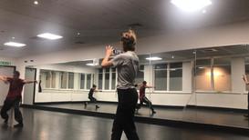Class with Ina Colizza. Matrafisc Dance Company.