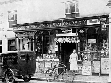 1967: Cuckfield recalled by a 75 year old Cuckfieldian - Four butchers, five bakers, four shoe shops