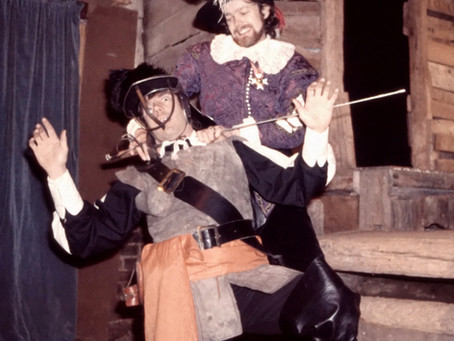 1986: Curtain comes down on celebrated Ansty Barn Theatre as James Forsyth bids sad farewell