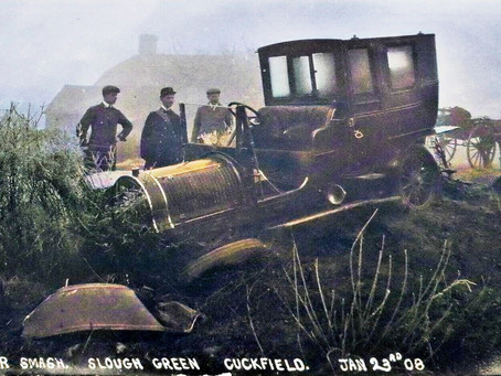 1908: Motorist sent to prison after drunken escapade leads to car crash in Cuckfield