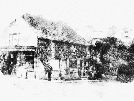 1984:  A glimpse into the past - Mrs Brigden's High Street shop in the 1880s
