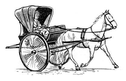 1849: Animal mayhem in Cuckfield street