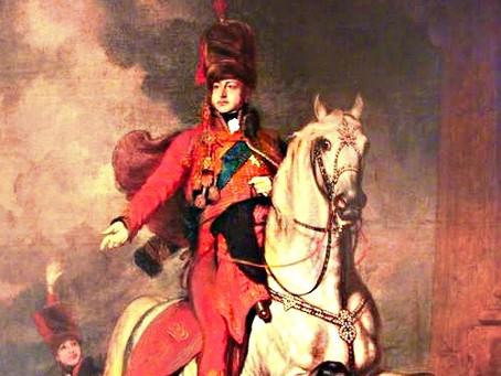 A Royal races through Cuckfield four times
