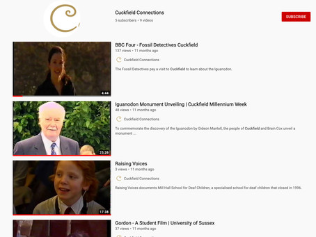 Cuckfield Connections YouTube Channel - blasts from the past