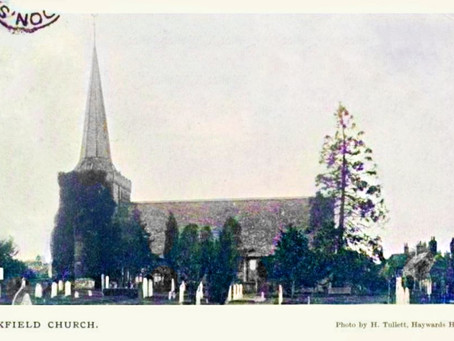 1920: Entertaining lecture on 800 years of Cuckfield Church History