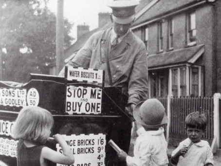 1934: A treat for local children when the Wallsy Man comes into Cuckfield