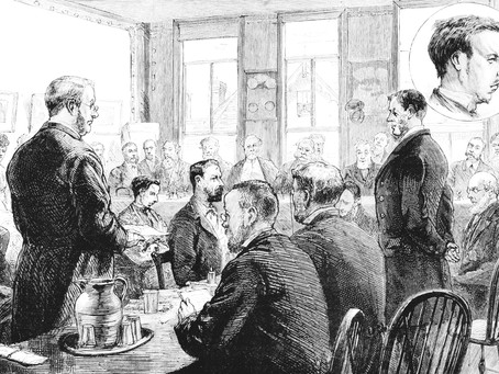 1881: Murder suspect Percy Lefroy Mapleton appears in Cuckfield Courtroom
