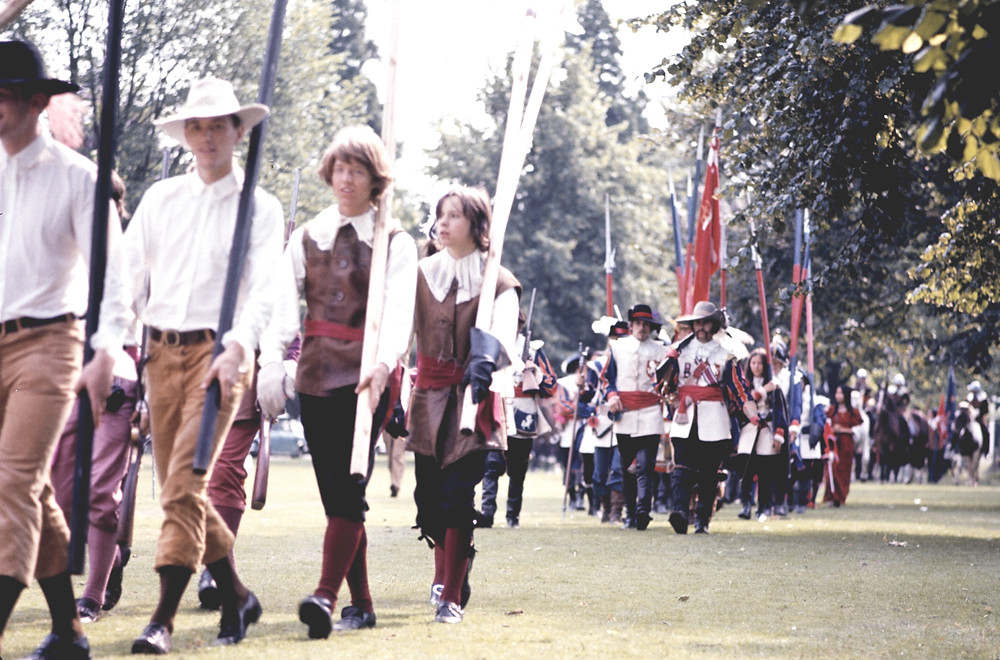 Sealed Knot, seen here in 1971 on Muster Green.
