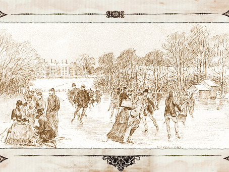 1891: Ice skating at Cuckfield