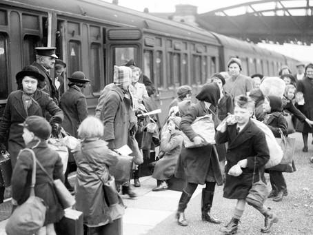 1939: Children's Sussex escape from the London Blitz
