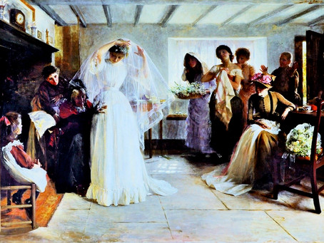 1890: A big society wedding for a Sergison daughter