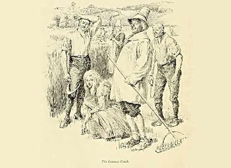 19th century: The tough farming life