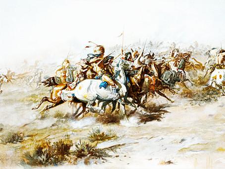 Headmaster's son survives Custer's last stand