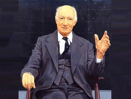 One of Cuckfield's most famous former residents, Lord Denning (1899-1999)