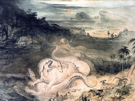 1834: The country of the Iguanodon