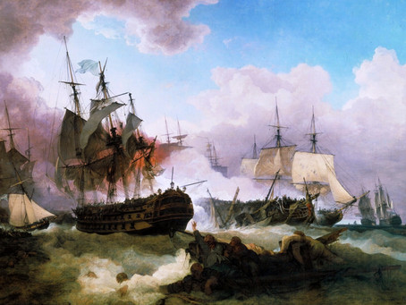 1797: Our local and national hero - Admiral Sir John Wells of Bolnore