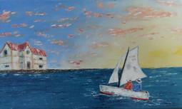 Sunset on a Boat - Vu de Bateau