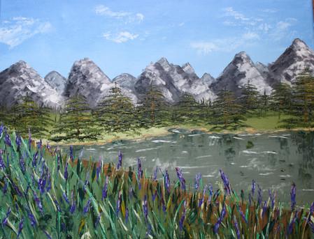 Mountain La - Lac de montagne