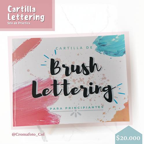 Cartilla Lettering Solo Aprendizaje