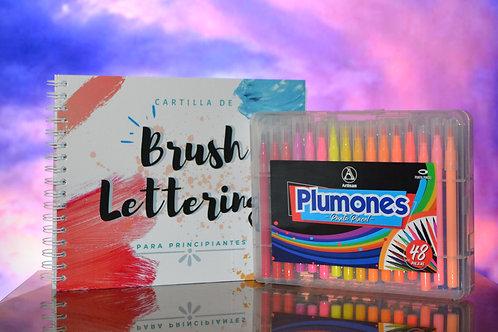 Kit Lettering + Plumones Artisan x 48