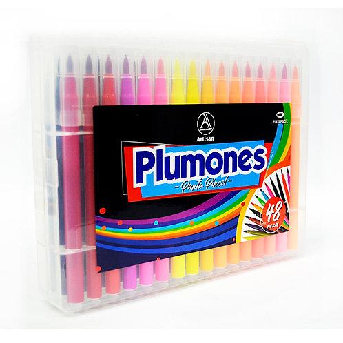 Plumones artisan x 48 unidades