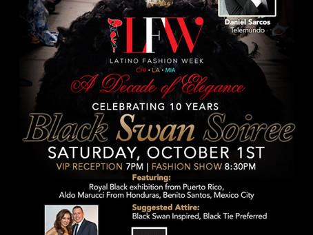 Come meet Ruth Diaz at Latino Fashion Week Sept 29, 2016 Block 37