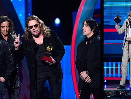 Juan Luis Guerra y MANÁ Ganan Premios Latin GRAMMY 2015