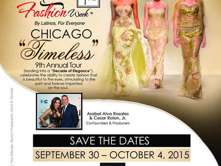 Ya Llego! La semana de la Moda Latina en Chicago: Latino Fashion Week