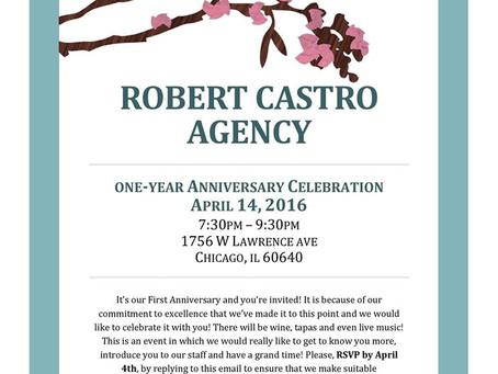Roberto Castro Agency: One- Year Anniversary Celebration
