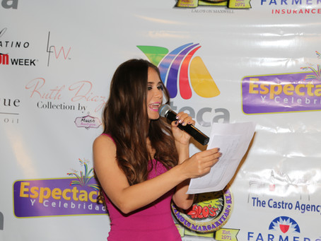 Espectaculos Y Celebridades on Azteca Chicago Hosted by Ruth Diaz