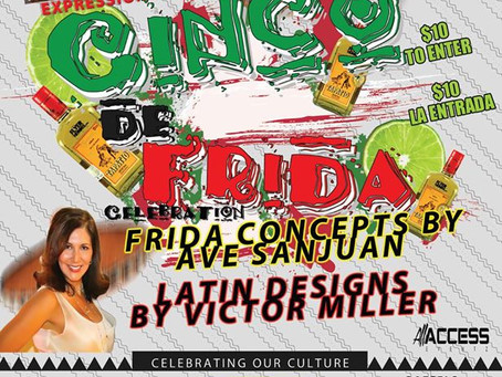 You are Invited to #CincoDeFrida Hosted by Ruth Diaz
