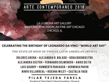 ECHOS 2 Arte Contemporaneo 2016 en La LLORONA Art Gallery