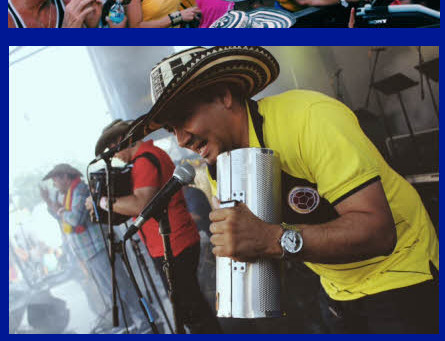 EL GRAN FESTIVAL COLOMBIANO 2016  2nd ANNUAL COLOMBIAN FEST JULY 16 & 17, 2016