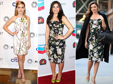 Why Flower Dresses Keeps Coming Back?