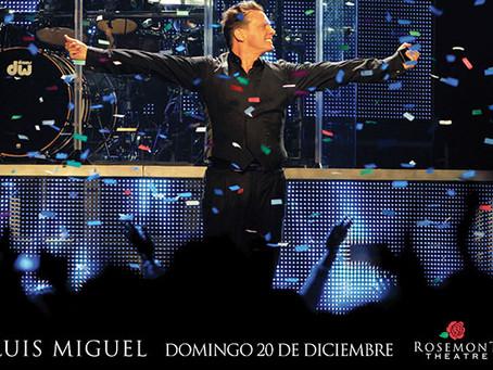 Luis Miguel Viene a Chicago en Diciembre