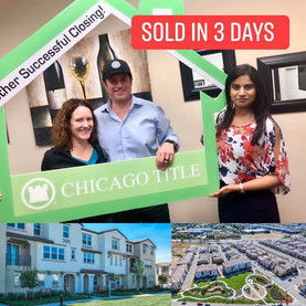 SOLD IN 3 DAYS !