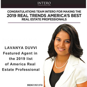 2019 REAL TRENDS AMERICA'S BEST REAL ESTATE PROFESSIONALS