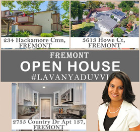 #OPENHOUSE THREE HOMES IN FREMONT
