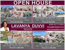 Open Houses this Sat & Sun (Huge price reductions)
