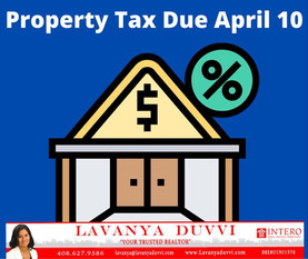 PROPERTY TAXES DUE TODAY